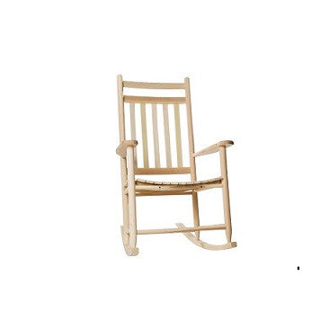 Tryon Solid Hardwood Jumbo Adult Porch Rocking Chair (Finish Options)