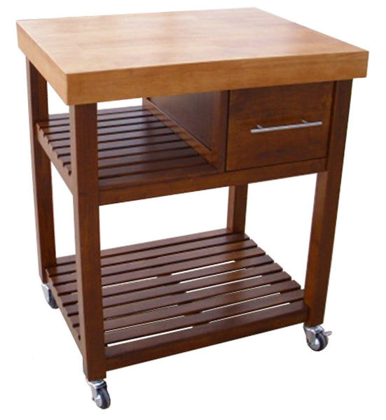 Kitchen Workcenter (Cinnamon & Espresso) - 30""