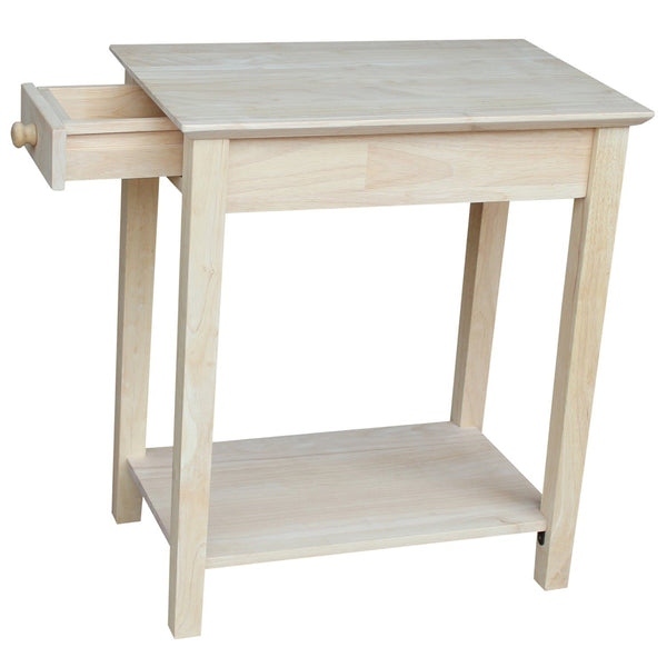 "Narrow End Table - 14"" - UnfinishedFurnitureExpo"