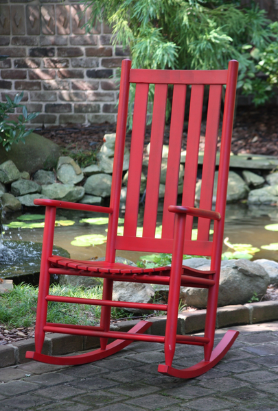 Asheville Rocker (Choose Finish) - UnfinishedFurnitureExpo