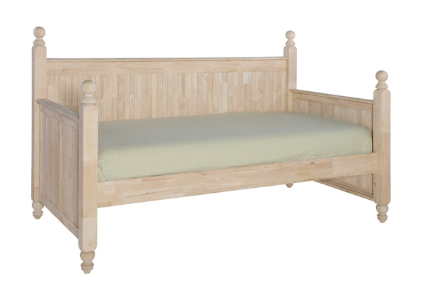 Cottage Hardwood Day Bed (Optional Trundle)