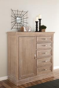 "Sonoma Hardwood Chest - 49"" - UnfinishedFurnitureExpo"