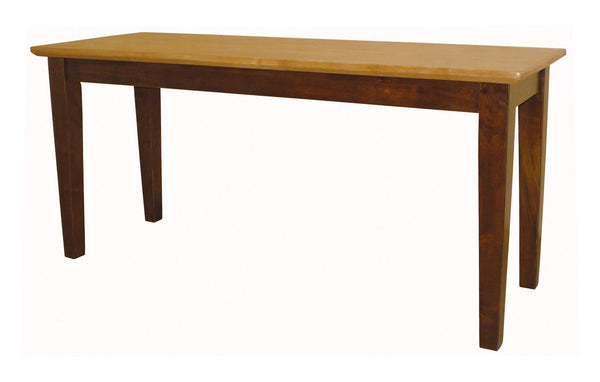 "39"" Vineyard Hardwood Shaker Bench (Finish Options) - UnfinishedFurnitureExpo"