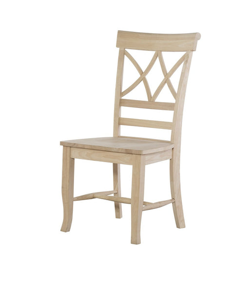Lacy Hardwood Chair (Set of 2) - UnfinishedFurnitureExpo