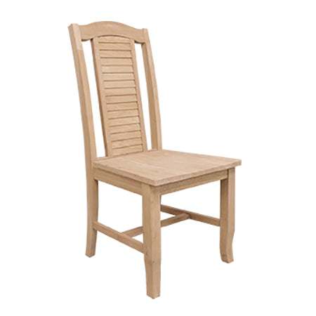 """Seaside"" Hardwood Dining Chair (2-Pack) - UnfinishedFurnitureExpo"