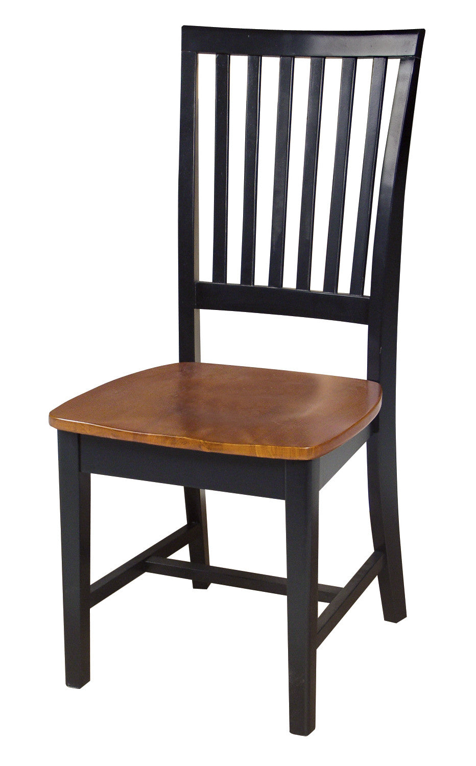 Mission Hardwood Dining Side Chair 2 Pack Free Shipping  : C57 265 from unfinishedfurnitureexpo.com size 932 x 1500 jpeg 121kB