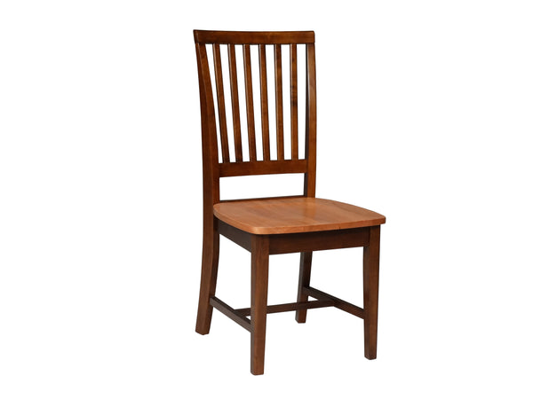 Mission Hardwood Dining Chair - 2 Pack (Finish Options)
