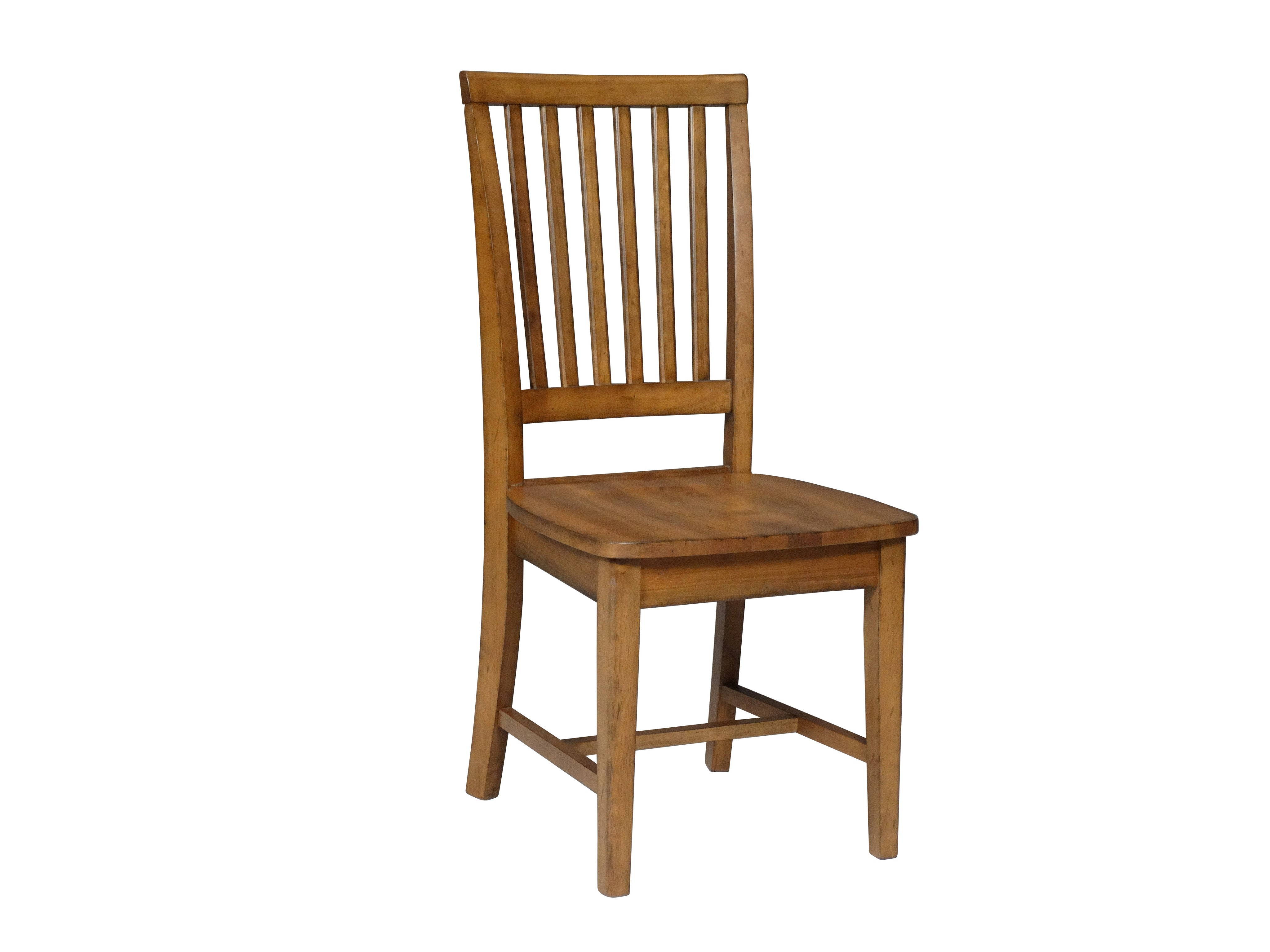 Mission Hardwood Dining Side Chair 2 Pack Free Shipping  : C59 265 from unfinishedfurnitureexpo.com size 4096 x 3072 jpeg 520kB