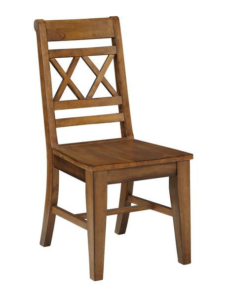 Canyon Hardwood XX Chair - 2 Pack (Finish Options) - UnfinishedFurnitureExpo