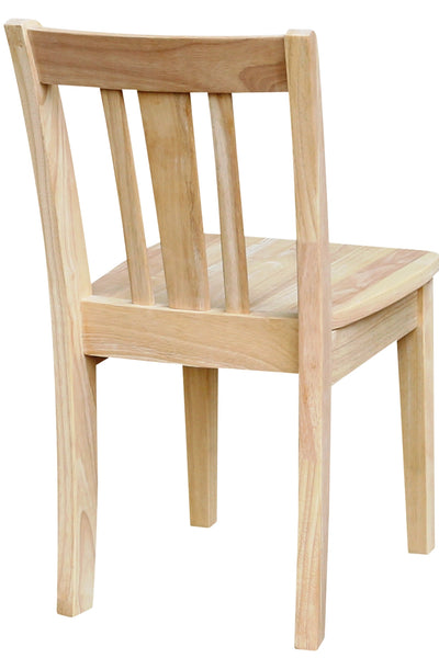 """San Remo"" Juvenile Chair - 2 Pack - UnfinishedFurnitureExpo"