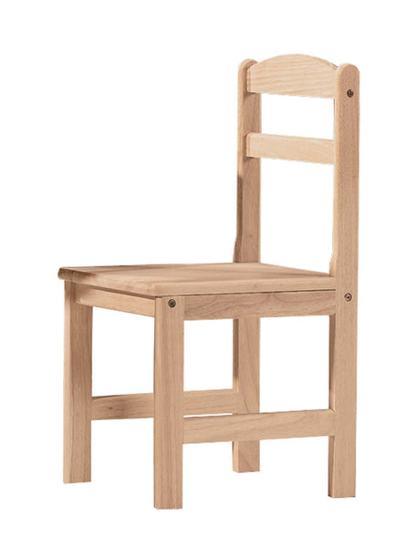 Hardwood Juvenile Chair (2 Pack) - UnfinishedFurnitureExpo