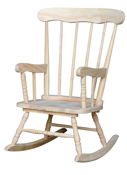 Child's Boston Hardwood Rocker (Finished Option)