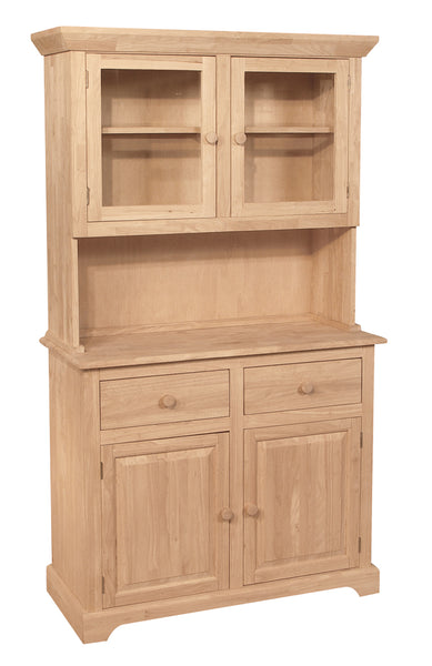 "2 Door Hardwood Buffet - 41"" - UnfinishedFurnitureExpo"