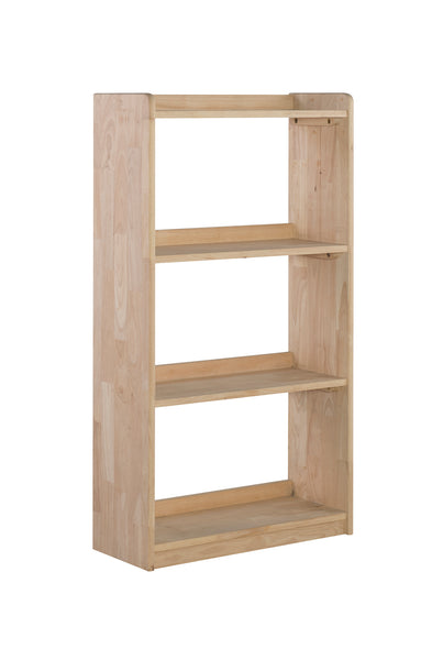 "50"" Tall Unfinished Wood 2-shelf Unfinished Accent Bookcase"