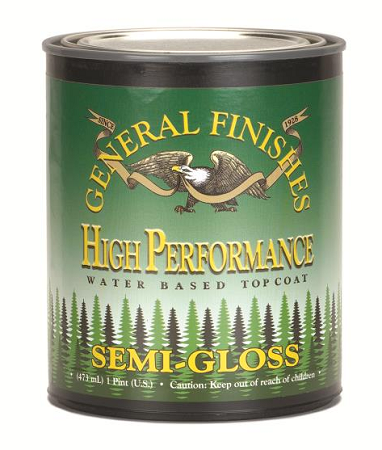 High Performance Polyurethane Water Based Topcoat - (Choose Sheen)