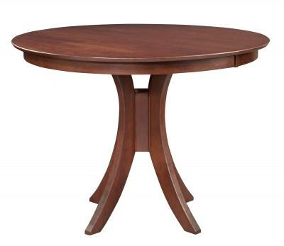 Sienna 48 Quot Round Hardwood Dining Table Free Shipping T