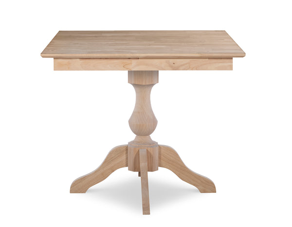 "Square Pedestal Table Top - 36"" x 36"""