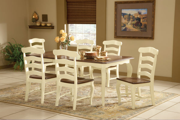 French Country Hardwood Dining Chair - 2 Pack - UnfinishedFurnitureExpo