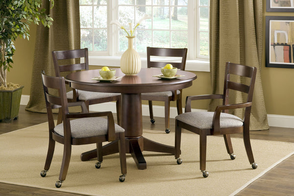 "48"" Round Solid Top Dining Table (Choose Pedestal) - UnfinishedFurnitureExpo"