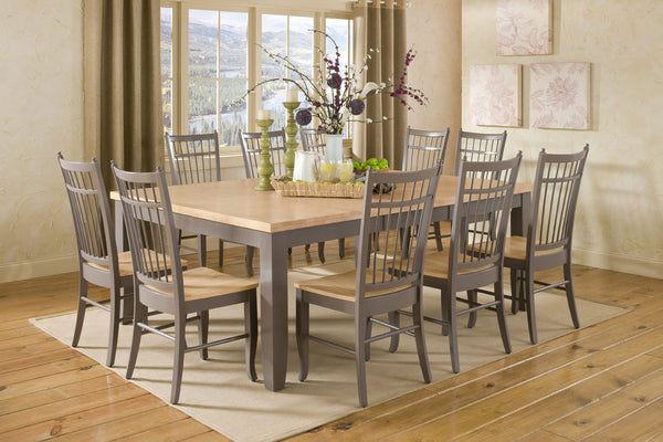 "Shaker Hardwood Butterfly Table - 60"" x 60"" x 80"" (Choose Height)"