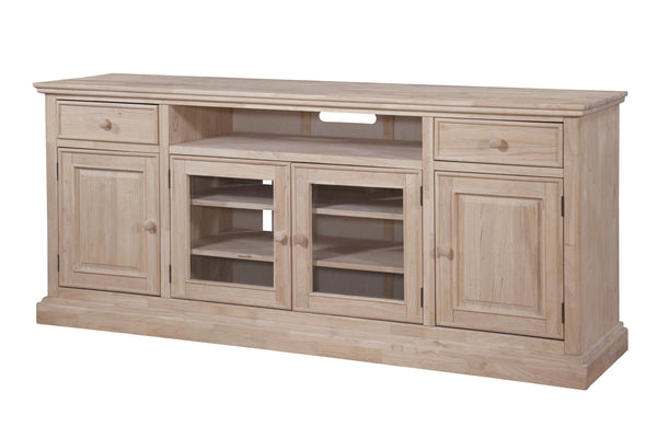 "Trenton Entertainment Center - 84"" - UnfinishedFurnitureExpo"