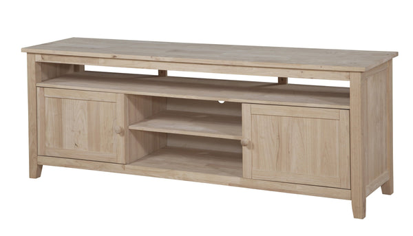 "Sturbridge Entertainment Center - 72"" - UnfinishedFurnitureExpo"
