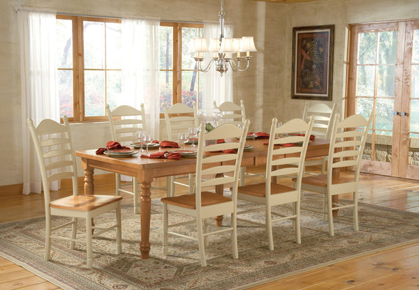 Hardwood Bedford Ladderback Dining Chair