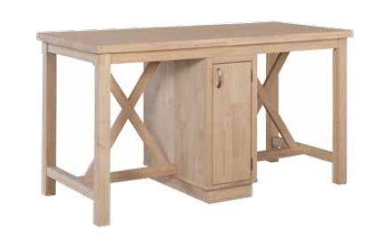 "Sherwood Kitchen Island - 64"" - UnfinishedFurnitureExpo"