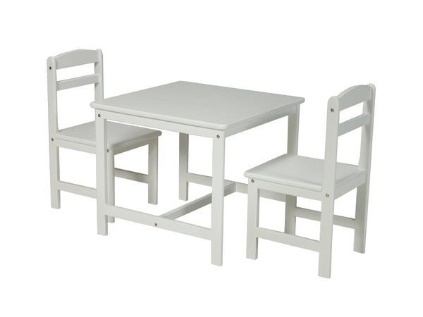 3-Piece Kid's Table & Chair Set - UnfinishedFurnitureExpo