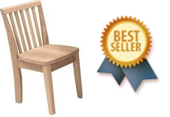 Mission Juvenile Chair - 2 Pack (Finished Options) - UnfinishedFurnitureExpo
