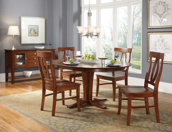 Verona Unfinished Hardwood Dining Chair (2-Pack)