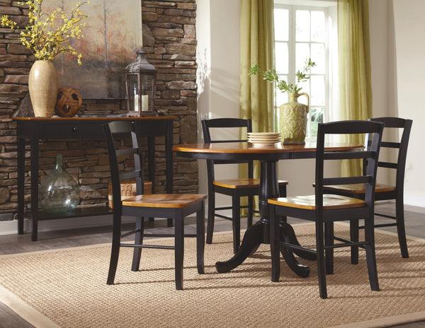 Madrid Hardwood Dining Chair 2-Pack (Finish Options) - UnfinishedFurnitureExpo