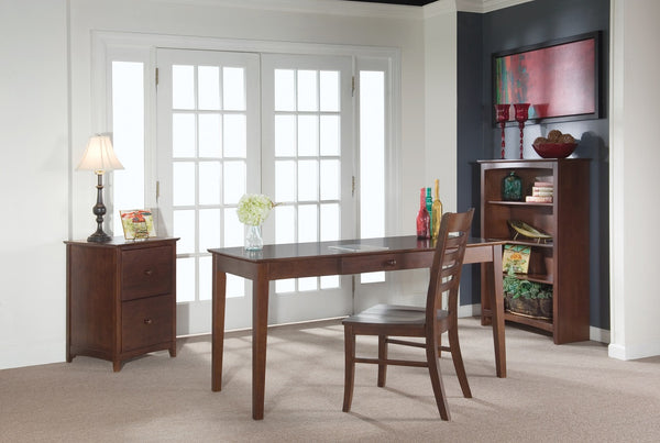 "Solid Hardwood Writing Table - 60"" Wide (Finished Option) - UnfinishedFurnitureExpo"