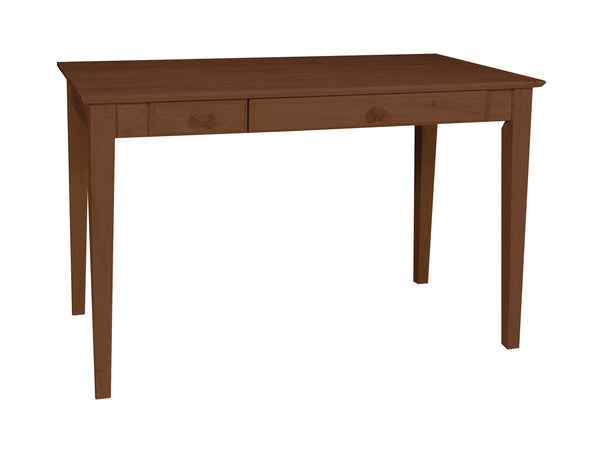 "Shaker Hardwood Computer Desk - 48"" (Finished Option) - UnfinishedFurnitureExpo"