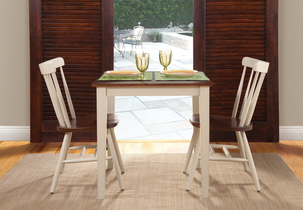 "Shaker Hardwood Dining Table 30"" x 30"" (3 Optional Heights) - Finished Options"