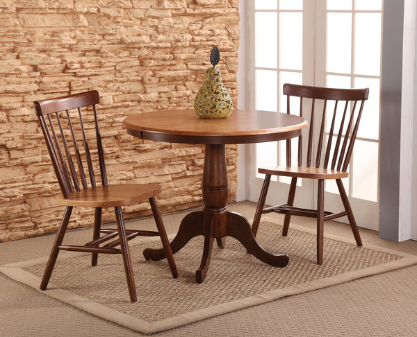 "Solid Hardwood 36"" Round Dining Table"