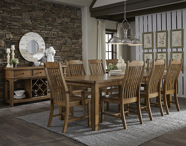 Canyon Steambent Mission Dining Chair - 2 Pack (Finish Options) - UnfinishedFurnitureExpo
