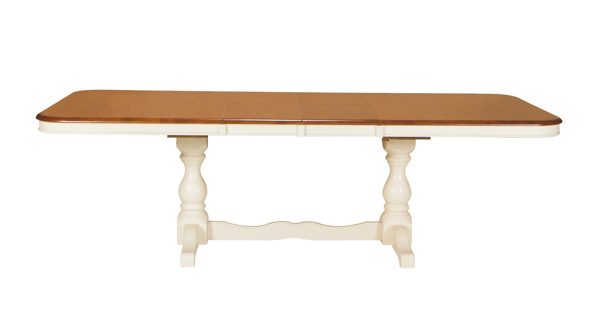 Double Butterfly Extension Hardwood Table Free Shipping