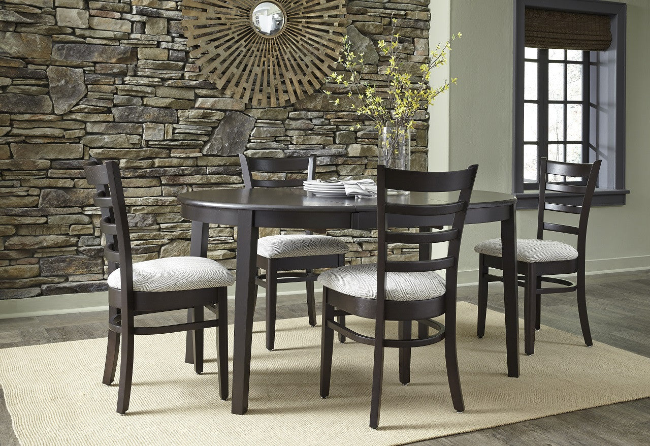 42 Round Hardwood Dining Table With Butterfly Leaf Unfinishedfurnitureexpo