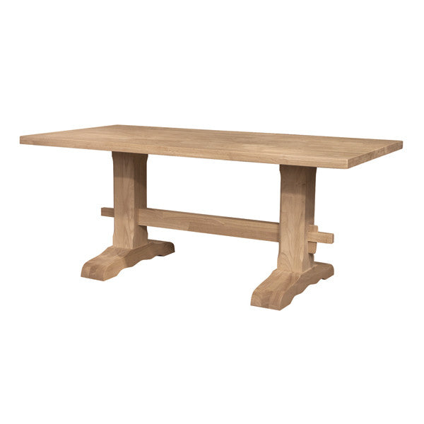 Trestle Hardwood Table