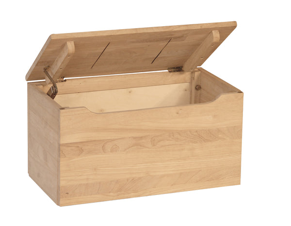 "Unfinished Furniture Expo Unfinished Solid Hardwood Toy/Storage Chest - 22"" Wide"