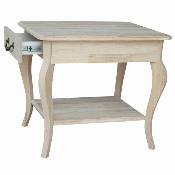 Cambria Rectangular Hardwood End Table