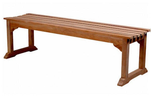 Teak Mason 3-Seater Backless Bench