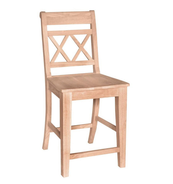 "Canyon XX Back Stool - 24"" (Finish Options)"