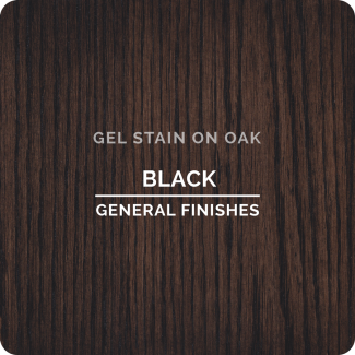 """Black"" Oil Based Gel Stain - Quart - UnfinishedFurnitureExpo"