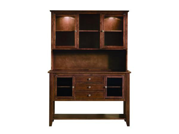 Cosmopolitan Hutch and Server (Finish Options)