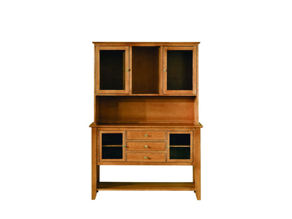 "Cosmopolitan Hutch and Server - 54"" (Finish Options) - UnfinishedFurnitureExpo"