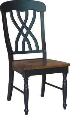 Bridgeport Latticeback Chair (Finish Options) - UnfinishedFurnitureExpo
