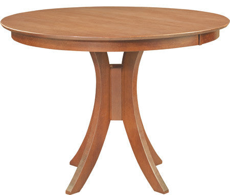 "Cosmopolitan Sienna 48"" Round Hardwood Dining Table (Aged Cherry)"