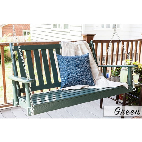 Corolla Porch Swing (Finish Options)